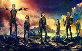 The Hunger Games Catching Fire (2013) Wallpaper