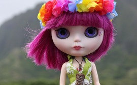 Doll Flower Crown Wallpaper