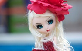 Doll Red Flower