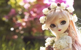 Doll Rose Wreath