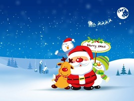 Lovely Merry Christmas