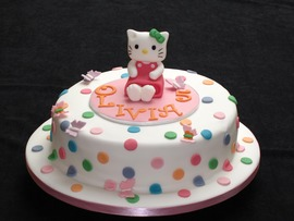 Beautiful Hello Kitty Cake