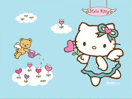 Beautiful Hello Kitty Wallpaper