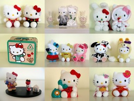 Hello Kitty Characters Picture