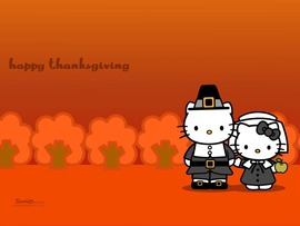 Hello Kitty Happy Thanksgiving