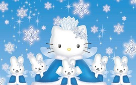 Hello Kitty Wide Wallpaper