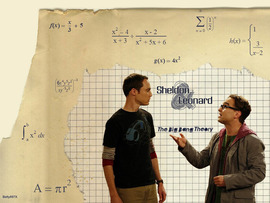 Big Bang Theory Sheldon & Leonard