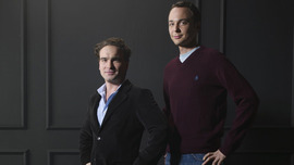 Jim Parsons & Johnny Galecki