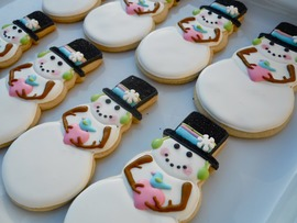 Christmas Cookies Desktop Background