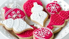 Christmas Cookies Desktop Wallpaper