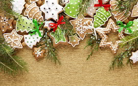 Christmas Cookies Widescreen