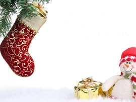 Christmas Stockings Desktop Wallpaper