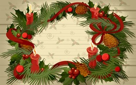 Christmas Wreaths Desktop Wallpaper