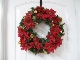 Christmas Wreaths Widescreen