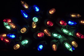 Led Christmas Lights Backgrounds
