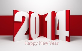 Happy New Year 2014 Free Wallpaper