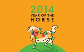 Happy New Year 2014 Horse