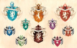 Game of Thrones Houses Symbols