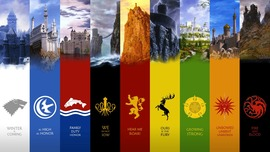 Game of Thrones Noble Houses