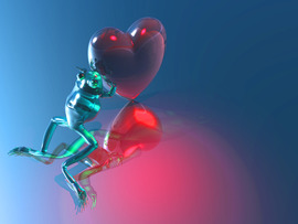 Valentines Day 3D Wallpaper