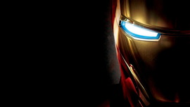 Iron Man Black Wallpaper