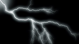Lightning Black Wallpaper
