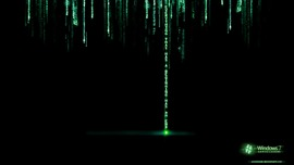 The Matrix Black Wallpaper