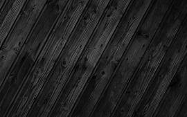 Wood Black Wallpaper