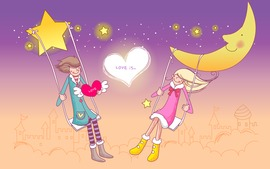 Cartoon Love Image