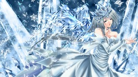 Ice Queen Wallpaper