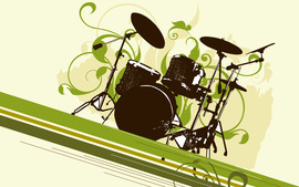 Drums Background
