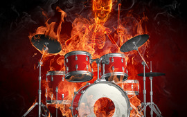 Drums Wallpaper