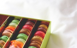 Macarons Desktop Wallpaper
