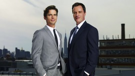 White Collar Backgrounds