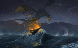 Sea Monster Picture