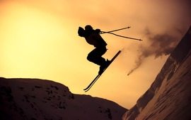 Skiing Desktop Backgrounds