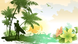 Surfing HD Wallpaper