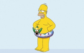 Homer Simpson Background