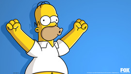 Homer Simpson Desktop Wallpaper