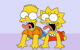 Lisa Simpson Bart Simpson
