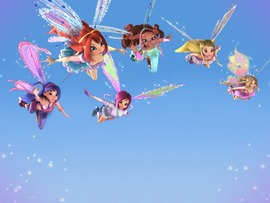 Cartoon Winx Club