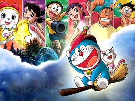 Doraemon Desktop Background