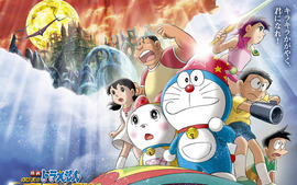 Doraemon Free Desktop Wallpaper