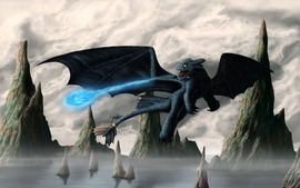 How to Train Your Dragon Wide Wallpaper