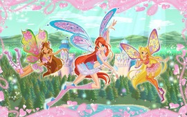 Winx Club Widescreen Wallpaper