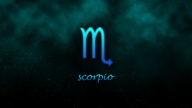 Scorpio Background