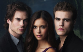 The Vampire Diaries Widescreen Wallpaper