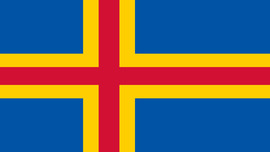 Åland Islands Flag