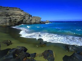 Green Beach Big Island