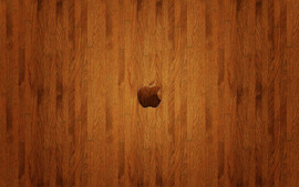 Apple Woden Logo